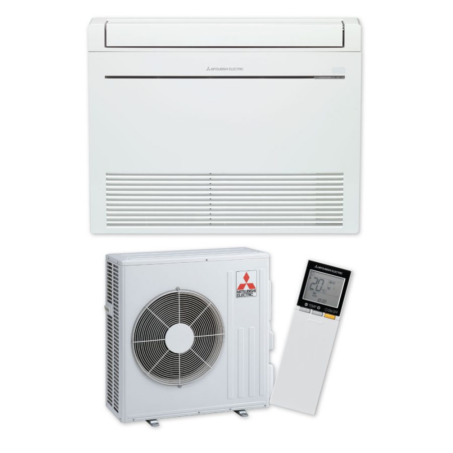 RapidHeat KJ60 Floor Console Heat Pump