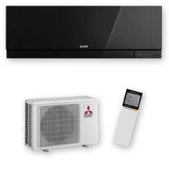Designer EF25 High Wall Heat Pump